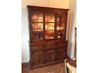 Wood Bros. Old Charm Drinks/Display cabinet Dark Oak
