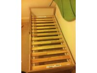 ikea wooden toddler bed