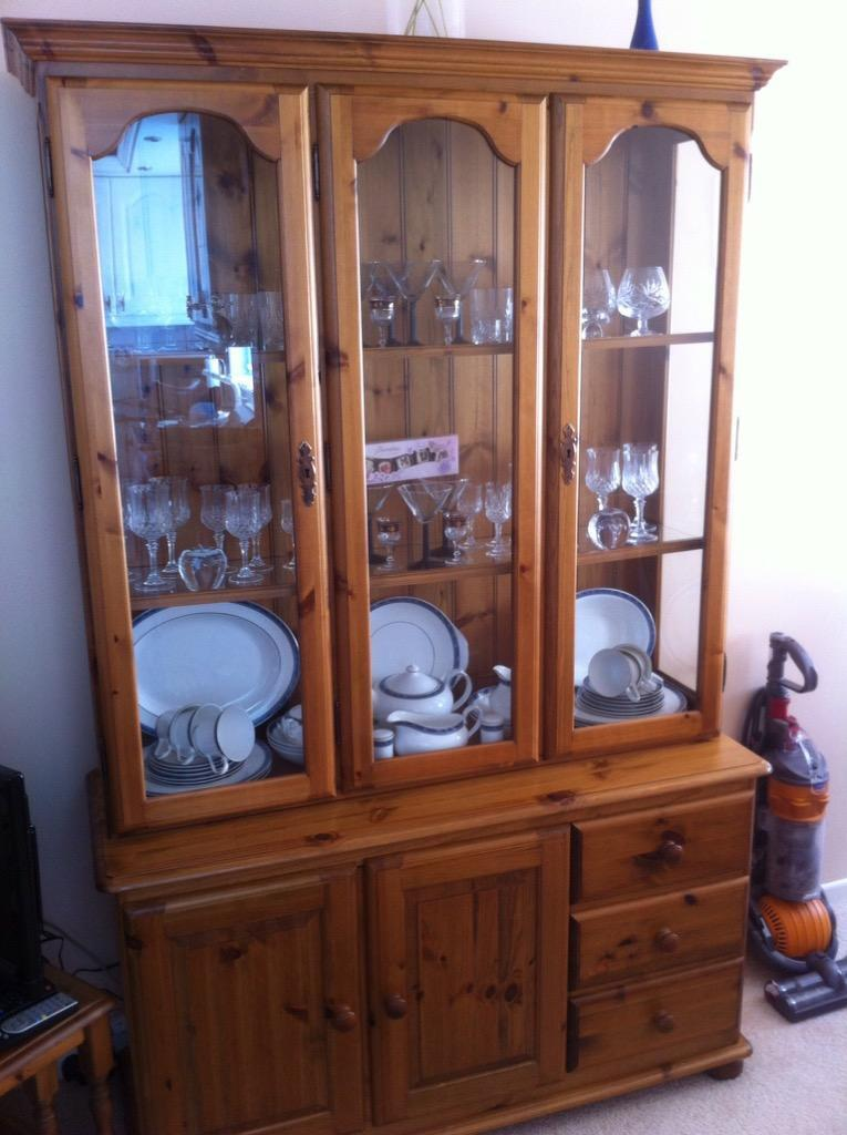 Ducal Large Display Cabinet in Excellent Condition in  : 86 from www.gumtree.com size 765 x 1024 jpeg 87kB