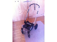 Bugaboo chameleon chassis, wheels and cosy toes.