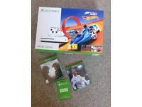 New-Sealed-Xbox-One-S-500GB-Forza-Horizon-3-Hot-Wheels-Fifa-18-live-gold-Halo5-