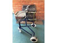 3 wheel walker.