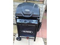 Outback gas barbecue for sale. Inc gas caniste r, cover and tools. Hardly used.