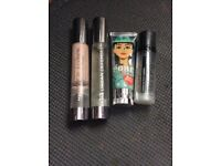 Make up primers (Benefit, Urban decay and GOSH)