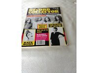VINYL SINGLE RECORDS & Book - Record of Pop Images of a decade Book Record collector CD's, Records