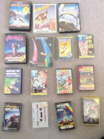 retro computer tape games for ZX sinclair spectrum computer .All original some rare and collectable