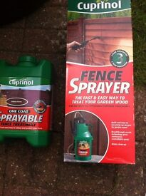 One Coat Sprayable Fence Treatment NEW