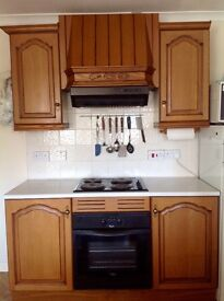 Second hand fitted kitchen units.