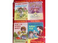19 Horrid Henry books