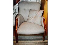 URGENT | Parker Knoll 1022/7 Spoon Back Armchair NEXT fabric