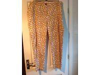 Brand new dressy summer trousers by TU @ SAINSBURYSSAINSBURYS size 22.