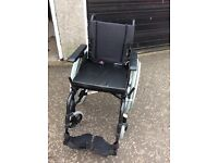 Wheelchair in immaculate condition