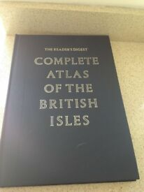 Reader's Digest Complete Atlas of the British Isles 1965 1st Edition Excellent Condition