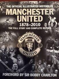 Manchester United 1878-2010 Hardback Book