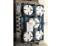 Beko 5 burner gas hob. £149 RRP £199 new/graded 12 month Gtee