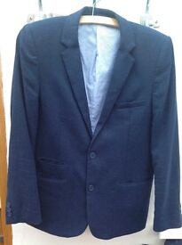 Boys age 13/14 M&S Autograph suit and Bluezoo shirt and tie