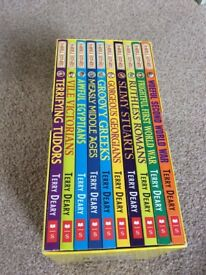 Horrible histories- 10 Beastly books
