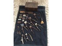Assorted Vintage hair clippers / shaving accessories