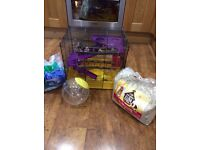 Hamsters cage plus extras