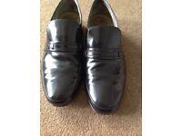 Men's Barker Campbell black leather shoes