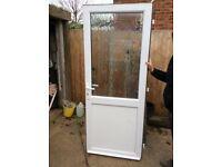 Front door in good condition