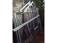 8ft x 6ft Greenhouse with Glass for Sale