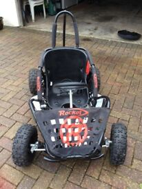Age 8+ car. Long battery life. 3speed settings. Like new. Would make great Xmas present