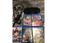 Sony PS Vita (WIFI & 3G), 5 Games and Memory Card