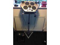 Yamaha DD-55c electronic drum kit + extras