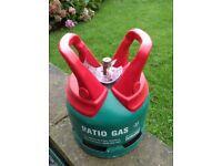 Calor gas bottle 5kg patio BBQ empty