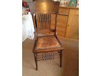 Antique Welsh chair