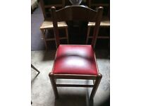 Set 4 dining chairs