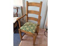 2 Carver dining chairs. Multiyork