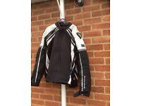 Selection of motorbike leather jackets