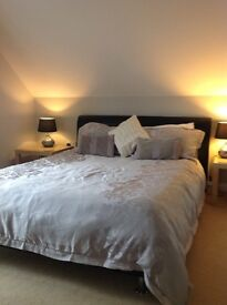 Business Travellers: Hotel Style en suite Bedroom with king size bed available MON to FRI
