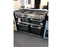 110cm dual fuel range by leisure new 12 mth gtee