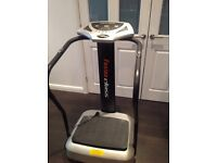 Vibration plate (Crazy fit vibe pro)