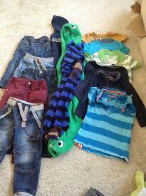 Boys 12-24 months clothes bundle