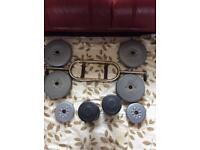 Barbell & weight set