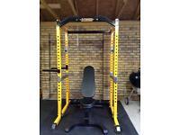 Power lifting rack