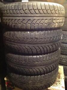 4 pneus d'hiver 195/65 r15 gislaved nord frost 5.   125$
