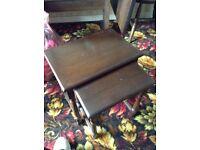 A Vintage Set of Teak Nest of Tables