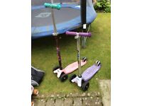 2 Micro scooters