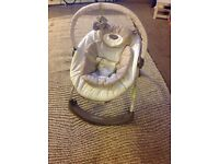 Mothercare baby bouncer with music and motion