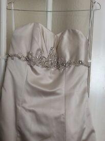 White Rose size 14 wedding dress
