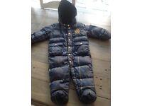 Ralph Lauren snow suit x 2 duck and goose down