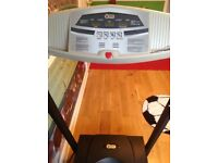 V Fit treadmill max speed 8.1 km works off the mains LCD display