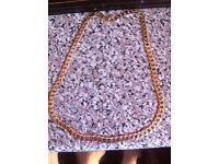 32.5 solid gold chain