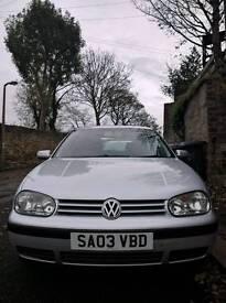 VW GOLF 2003 (03) 1.6, 10 months MOT, Good Condition, Great Runner
