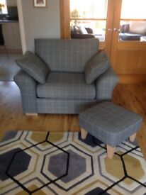 Next Storage Chair and Footstool